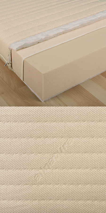 bio kaltschaummatratze dormivera. Black Bedroom Furniture Sets. Home Design Ideas