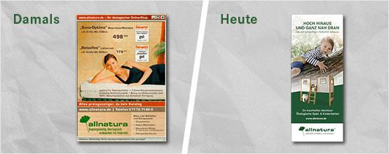 Werbung damals und heute