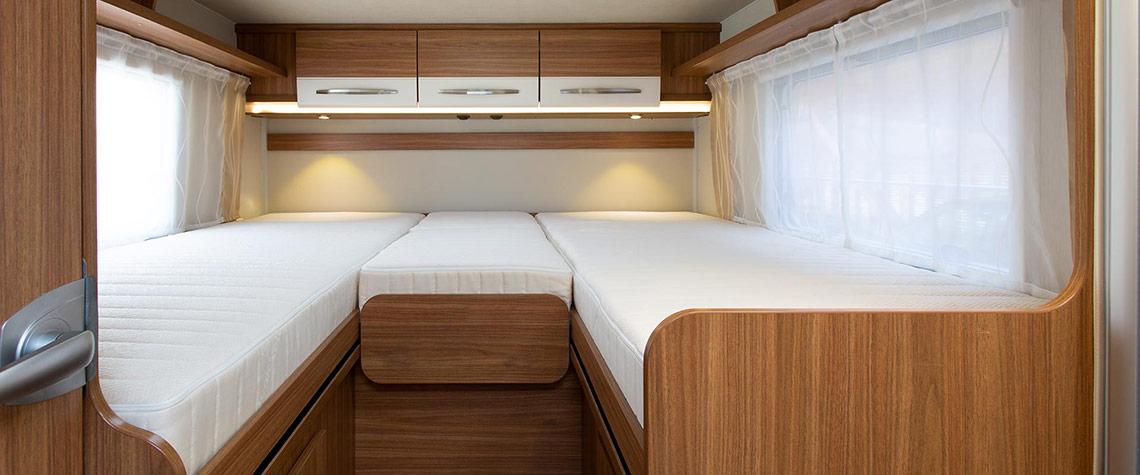Wohnmobil-Matratzen nach Maß