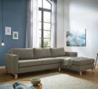 "Couch mit Recamiere ""Linea Nova"""
