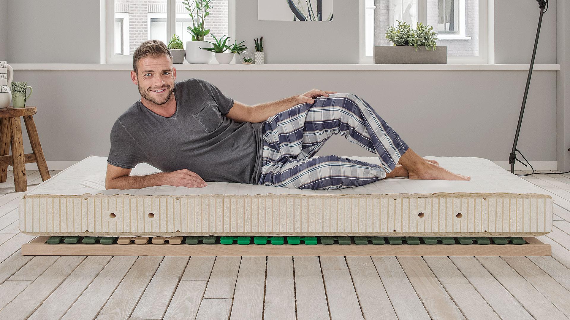 naturlatex matratze sana basic. Black Bedroom Furniture Sets. Home Design Ideas