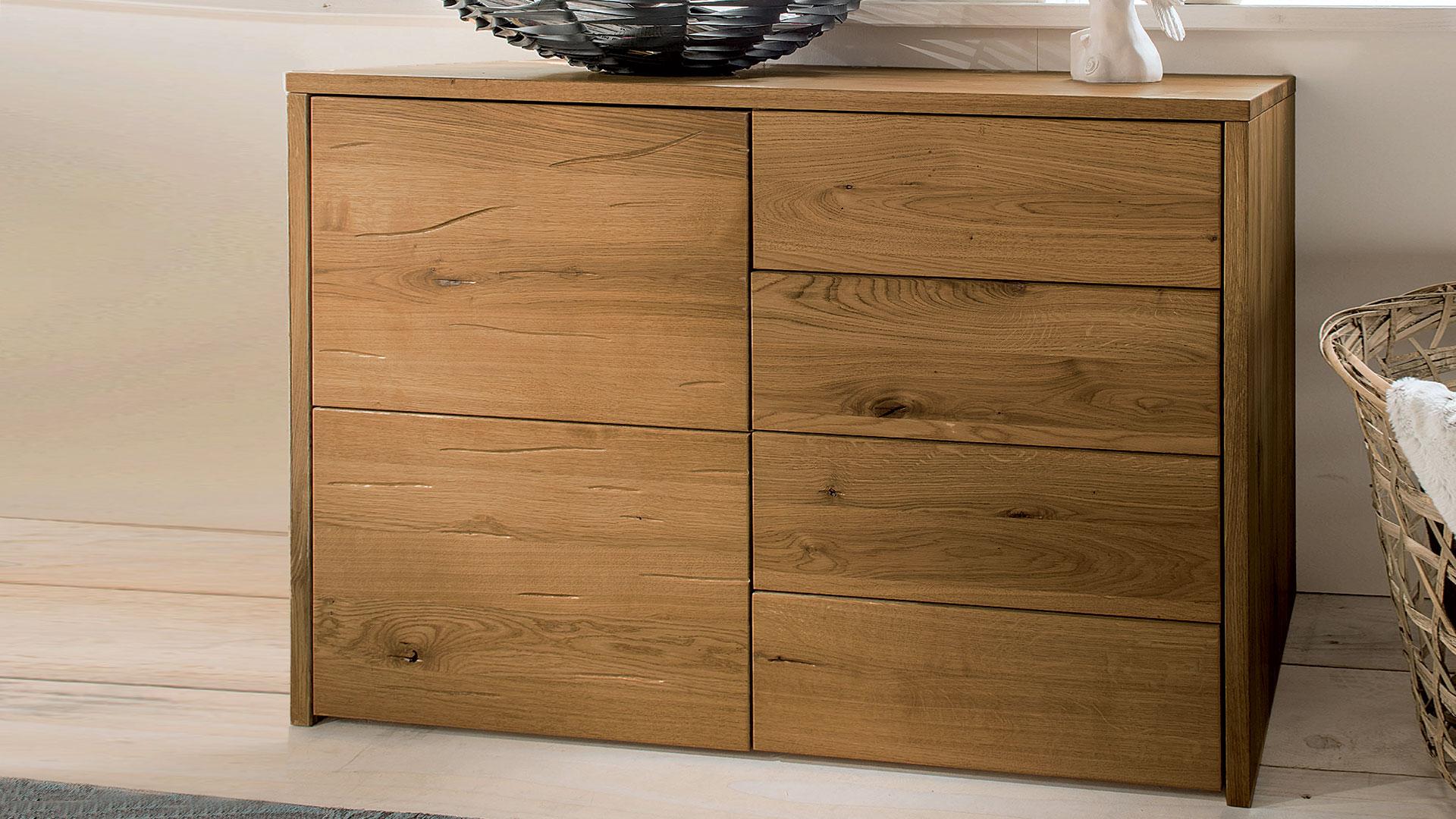 kommode selva massiv eiche. Black Bedroom Furniture Sets. Home Design Ideas