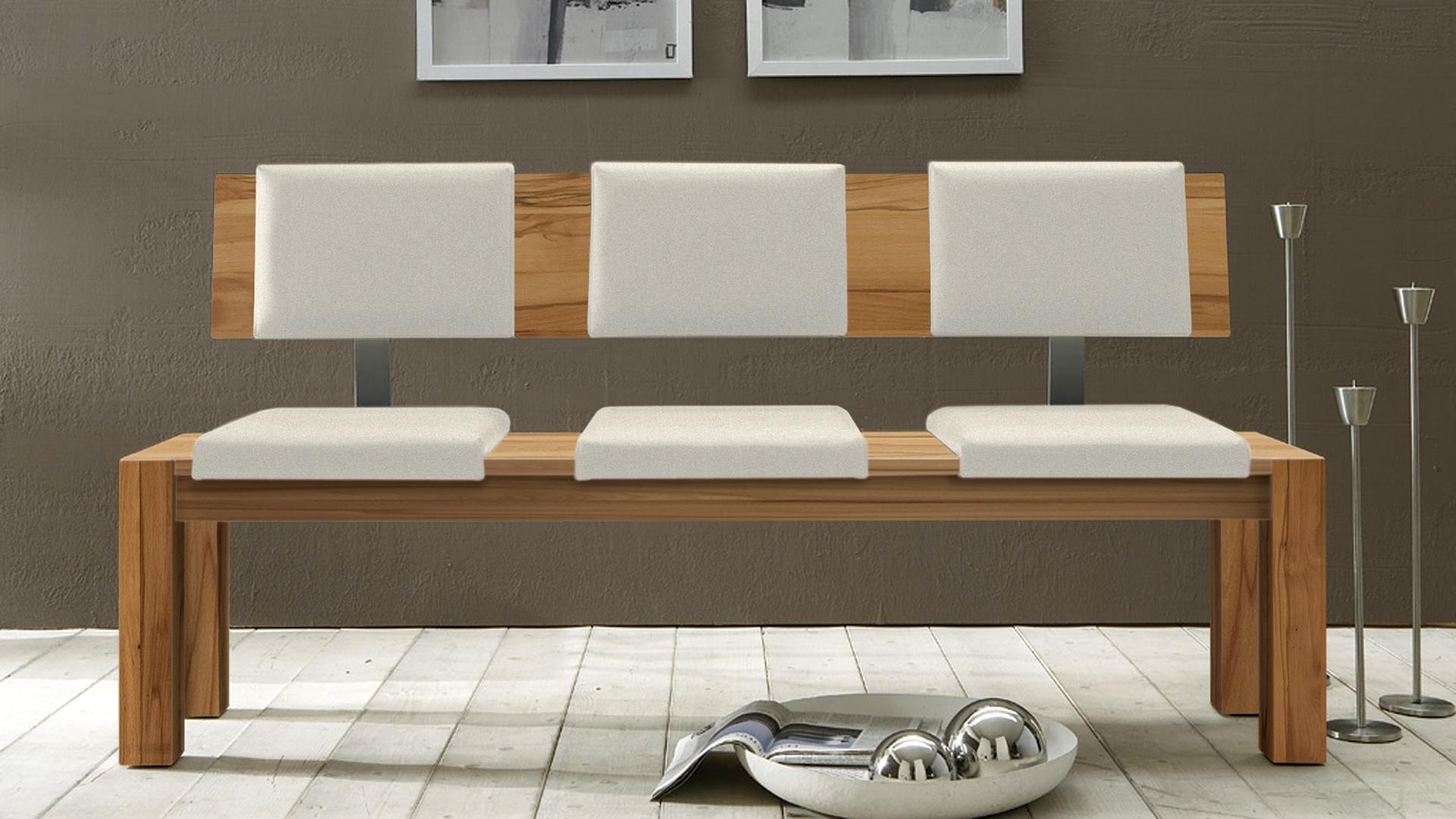 sitzbank mit lehne imago. Black Bedroom Furniture Sets. Home Design Ideas