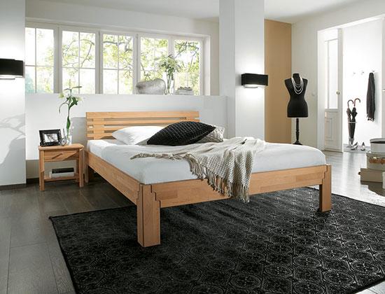 einzelbett und doppelbett amica. Black Bedroom Furniture Sets. Home Design Ideas