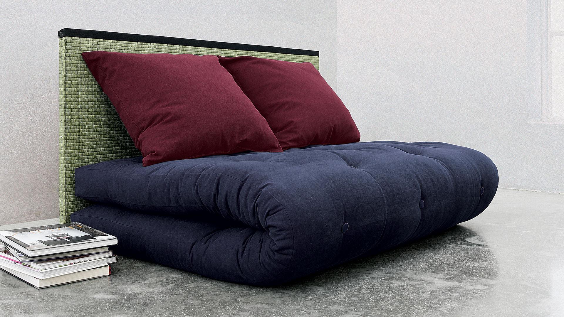 futon schlafsofa seigo. Black Bedroom Furniture Sets. Home Design Ideas