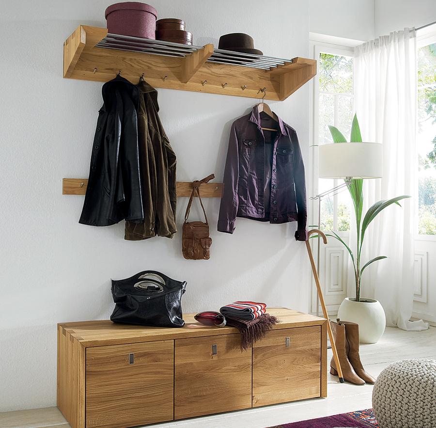Garderobe moresca for Garderobe vollholz