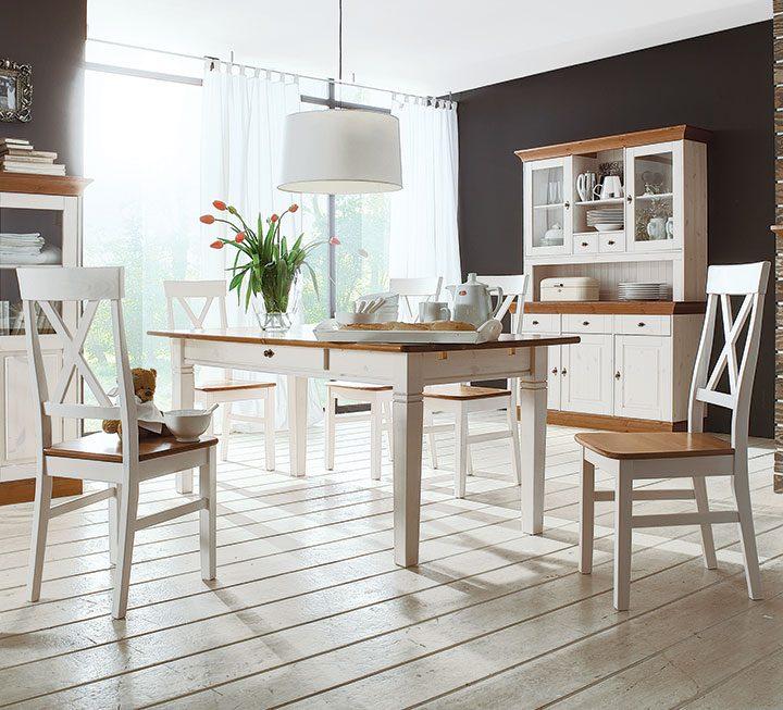 Esszimmer aus massivholz for Moderne sitzbank esszimmer