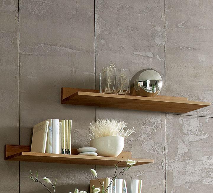 wohnw nde regale aus massivholz. Black Bedroom Furniture Sets. Home Design Ideas